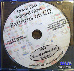 stained glass pattern cd